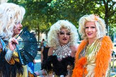 Dragqueens on Christopher Street Day Royalty Free Stock Photo
