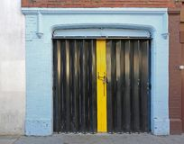 Dragspels- dörr arkivbilder