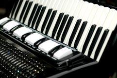 dragspels- instrumentmusikal Arkivbilder