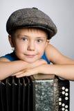 dragspels- le för pojke royaltyfri foto
