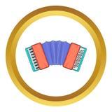 Dragspels- symbol stock illustrationer