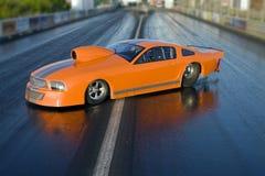 dragster автомобиля Стоковое Изображение
