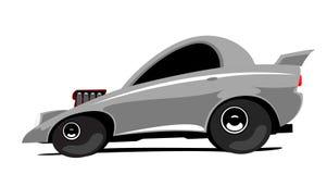 dragster de véhicule illustration de vecteur