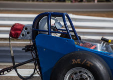 Dragster Driver Royalty Free Stock Photography