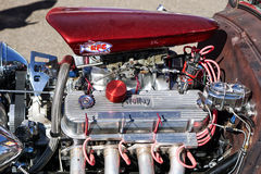 Dragster Engine Stock Photo