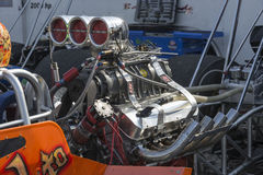 Dragster engine stock images