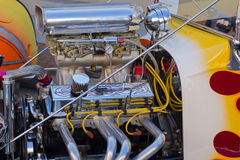 Dragster High Performance Motor Royalty Free Stock Photo