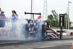Dragster start Royalty Free Stock Photos