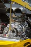 Dragstermotor Royalty-vrije Stock Foto's