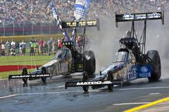 DRAGSTERS:  May 27 Coca Cola 600 Royalty Free Stock Image