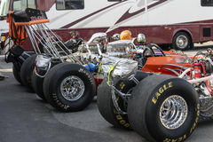 Dragsters Royalty Free Stock Image
