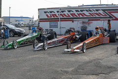 Dragsters Stock Photography