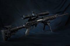 Dragunov sniper rifle Stock Photos