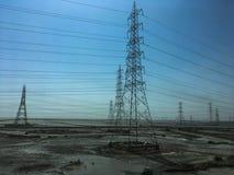 Draht-elektrisch stockfotografie