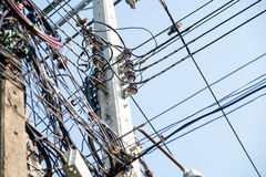 Draht elektrisch stockfotos