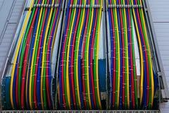 Draht, elektrisch, industriell, modern, elektrisch, Energie, Strom lizenzfreie stockfotografie