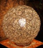 Draht-Lampe Stockfotos