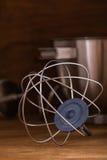 Draht wischen Küchenmaschine Stockfotos