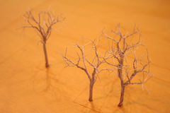 Drahtbäume Stockfotos