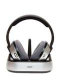 Drahtlose Kopfhörer. Lizenzfreie Stockbilder