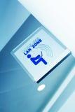 Drahtlose LAN-Zone Stockbilder