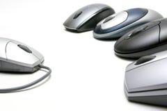Drahtlose Mäuse Stockbilder