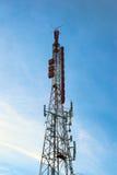 Drahtlose Radioantennen Stockfoto