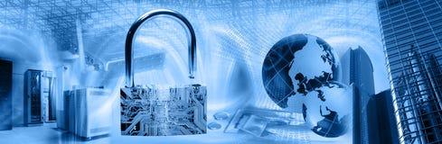 Drahtlose Sicherheits-Montage Lizenzfreie Stockfotos