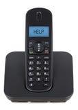 Drahtlose Telefonhilfe Lizenzfreie Stockfotos