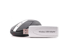 Drahtloser USB-Adapter Stockfotos