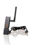 Drahtloser USB Adapter Wi-Fi Lizenzfreie Stockfotos
