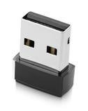 Drahtloser USB Adapter Wi-Fi Stockfotografie