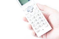 Drahtloses Haupttelefon Stockbilder