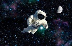 Drahtloses Internet Raumfahrer wiitch Auftrags stockfotos