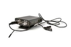 Drahtloses Mikrofon Stockfoto