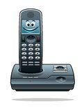 Drahtloses Telefon Stockfotografie