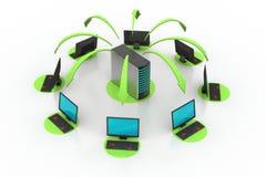 Drahtloses Vernetzungssystem Lizenzfreie Stockfotos