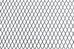 Drahtnetzbeschaffenheit lokalisiert auf weißem Hintergrund stockfoto
