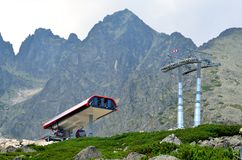 Drahtseilbahn Lizenzfreies Stockfoto
