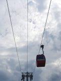 Drahtseilbahn funikulär Stockbilder