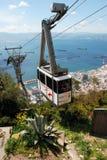 Drahtseilbahn, Gibraltar Stockfoto