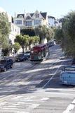 Drahtseilbahn, San Francisco Lizenzfreie Stockbilder