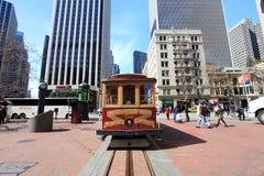 Drahtseilbahn, San Francisco Lizenzfreies Stockbild
