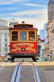 Drahtseilbahn in San Francisco Stockfoto