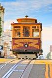 Drahtseilbahn in San Francisco Stockbild