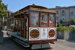 Drahtseilbahn San Francisco Lizenzfreies Stockfoto