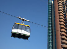Drahtseilbahn in Sochi Stockfoto
