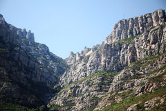 Drahtseilbahn zu Montserrat Lizenzfreies Stockfoto