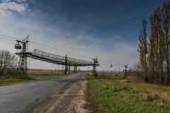 Drahtseilbahnsodaanlage lizenzfreies stockfoto