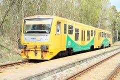 Drahy trein van Ceske Royalty-vrije Stock Foto's